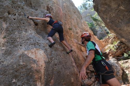 2017 Rogaine y escalada Olba